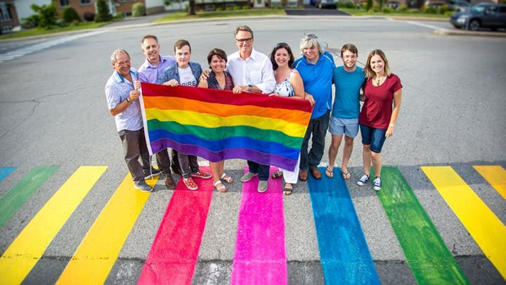 Les employés de la Ville de Varennes célèbrent la diversité.