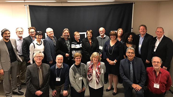 Réunion annuelle des Chaires UNESCO à Edmonton, Alberta, en novembre 2017.