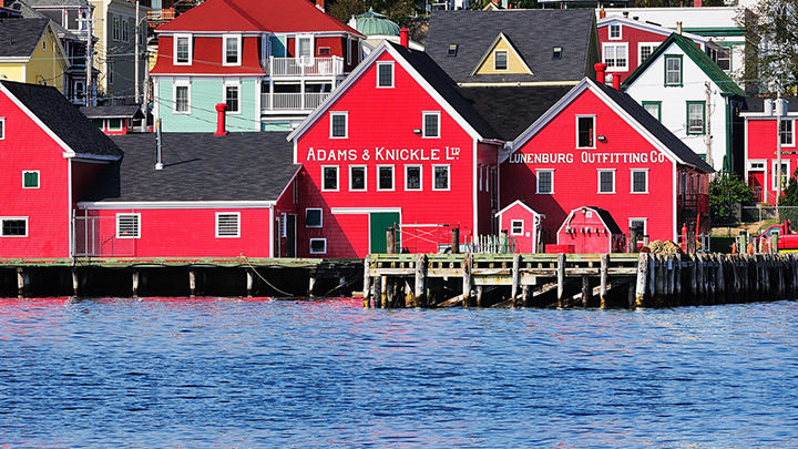 The Old Town of Lunenburg, Nova Scotia, a UNESCO World Heritage Site since 1995. Credits : Andrea Vail
